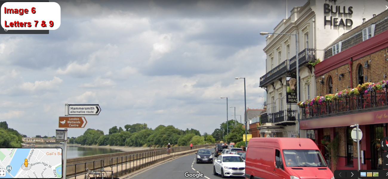 A virtual puzzle hunt through barnes in london.