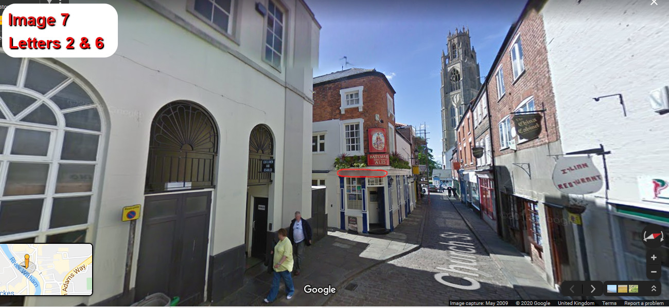 A virtual puzzle hunt through the coastal town of boston in lincolnshire.
