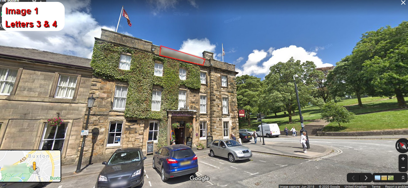 A virtual puzzle hunt through buxton in derbyshire.