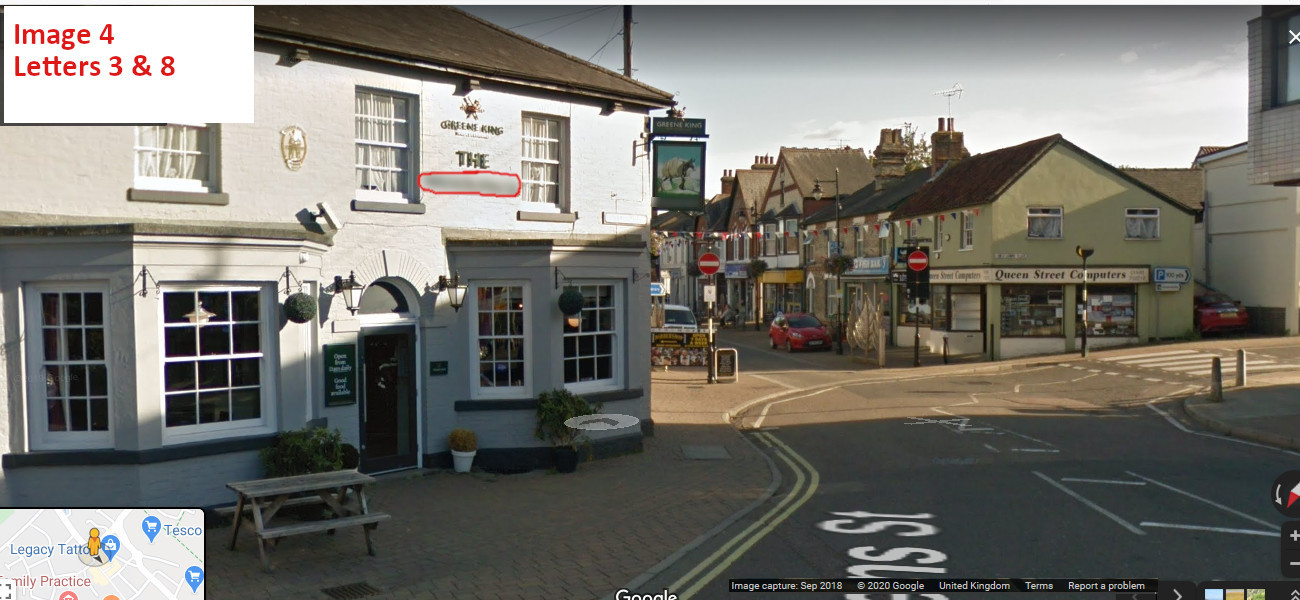 A virtual puzzle hunt through the town of haverhill in Suffolk.