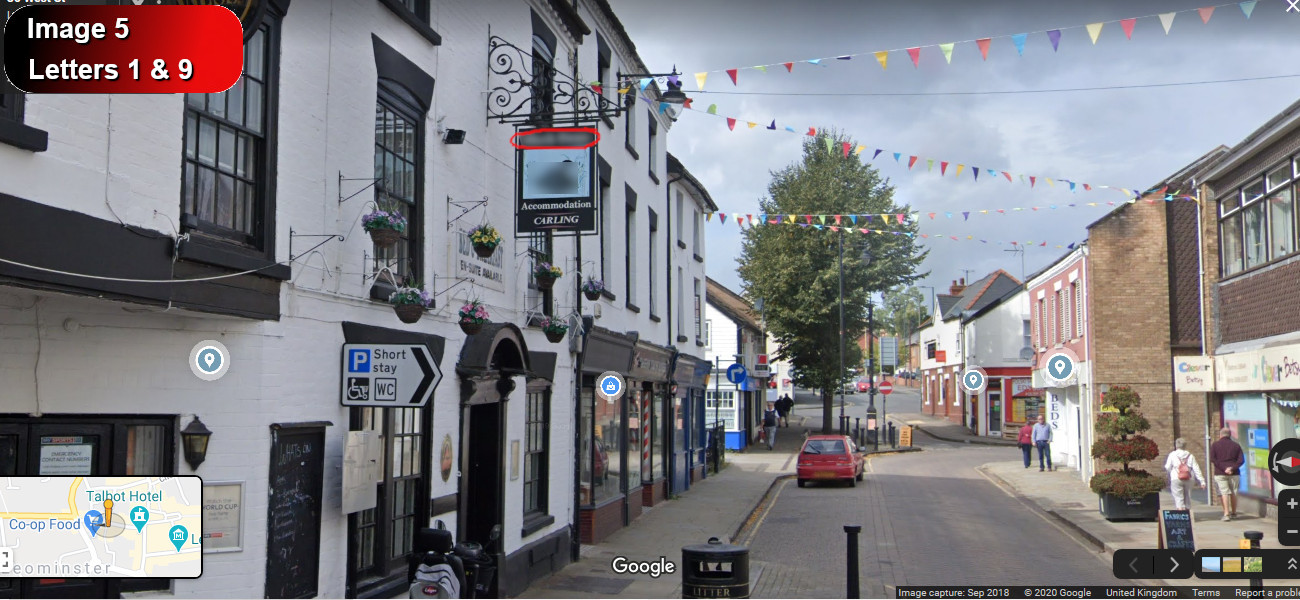 A virtual puzzle hunt through leominster in herefordshire.