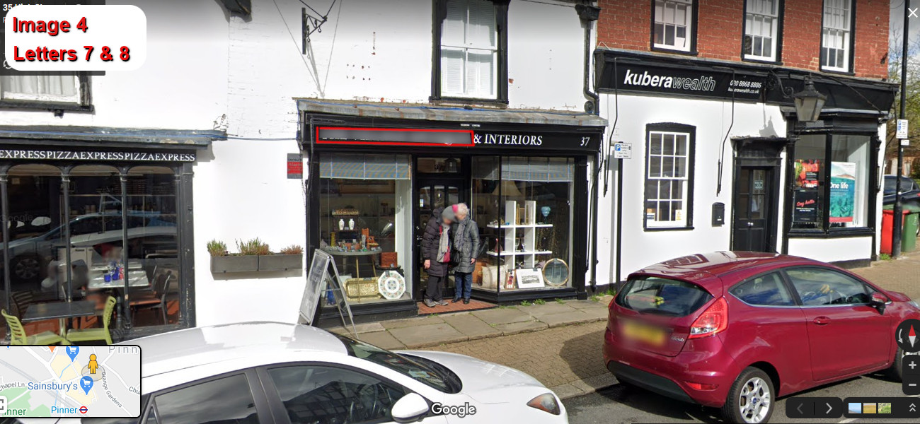 A virtual puzzle hunt through pinner in london.