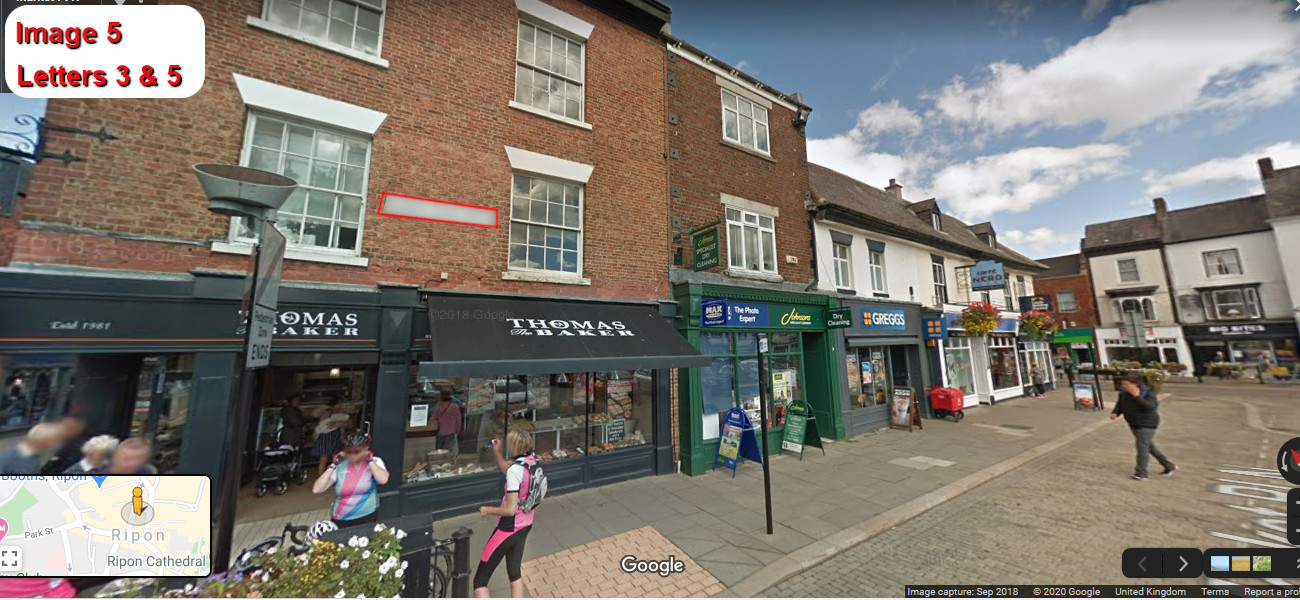 A virtual puzzle hunt through ripon in yorkshire.