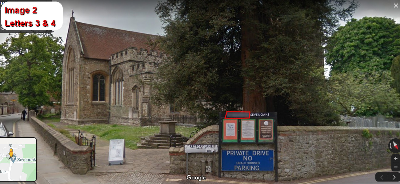 A virtual puzzle hunt through sevenoaks in kent.