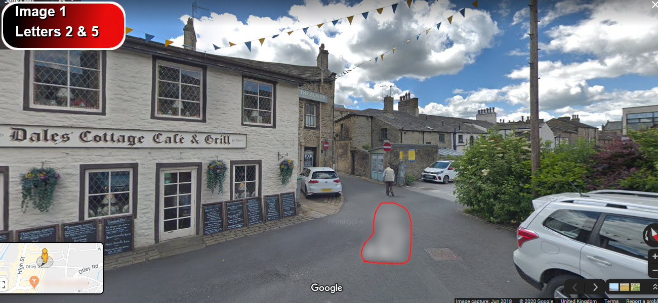 A virtual puzzle hunt through skipton in yorkshire.