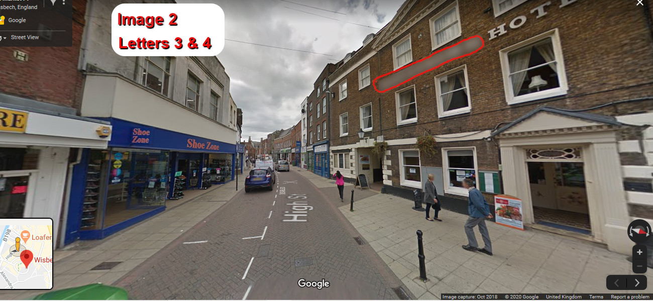 A virtual puzzle hunt through the town of wisbech in cambridgeshire.