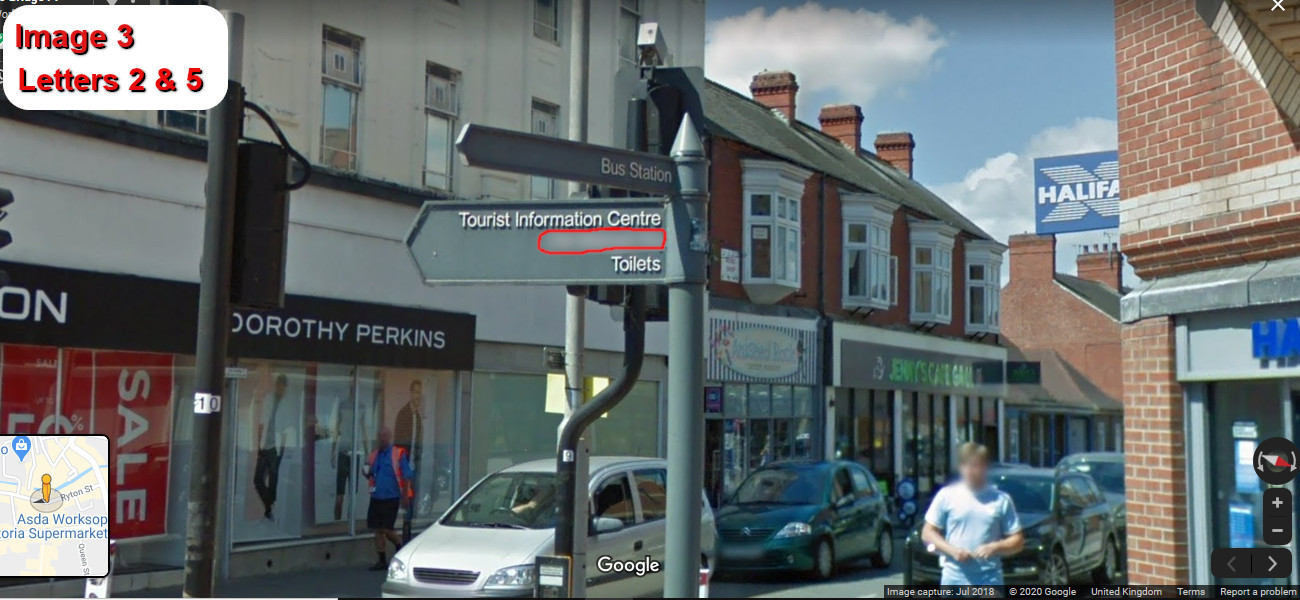 A virtual puzzle hunt through worksop in nottinghamshire.