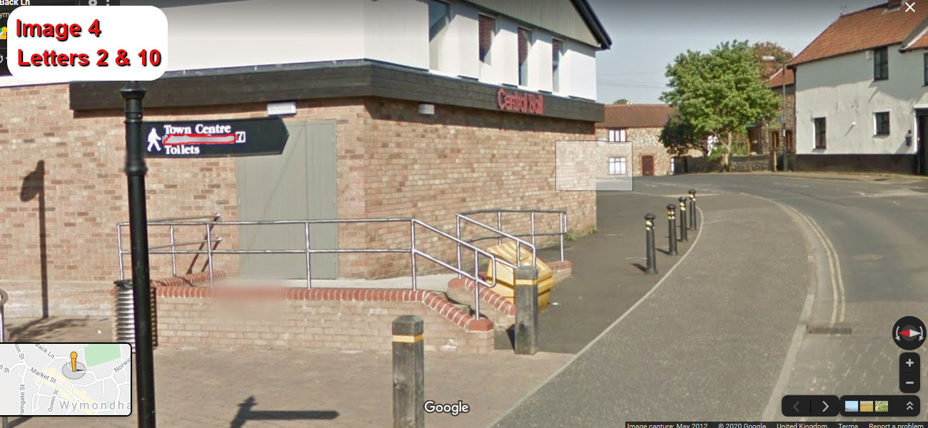 A virtual puzzle hunt through the town of wymondham in norfolk.